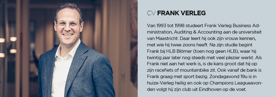CV - Frank Verleg - HLB Blömer