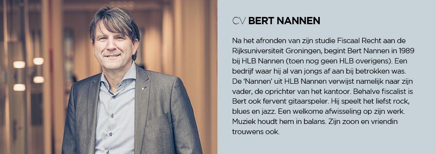 CV - Bert Nannen - HLB Nannen